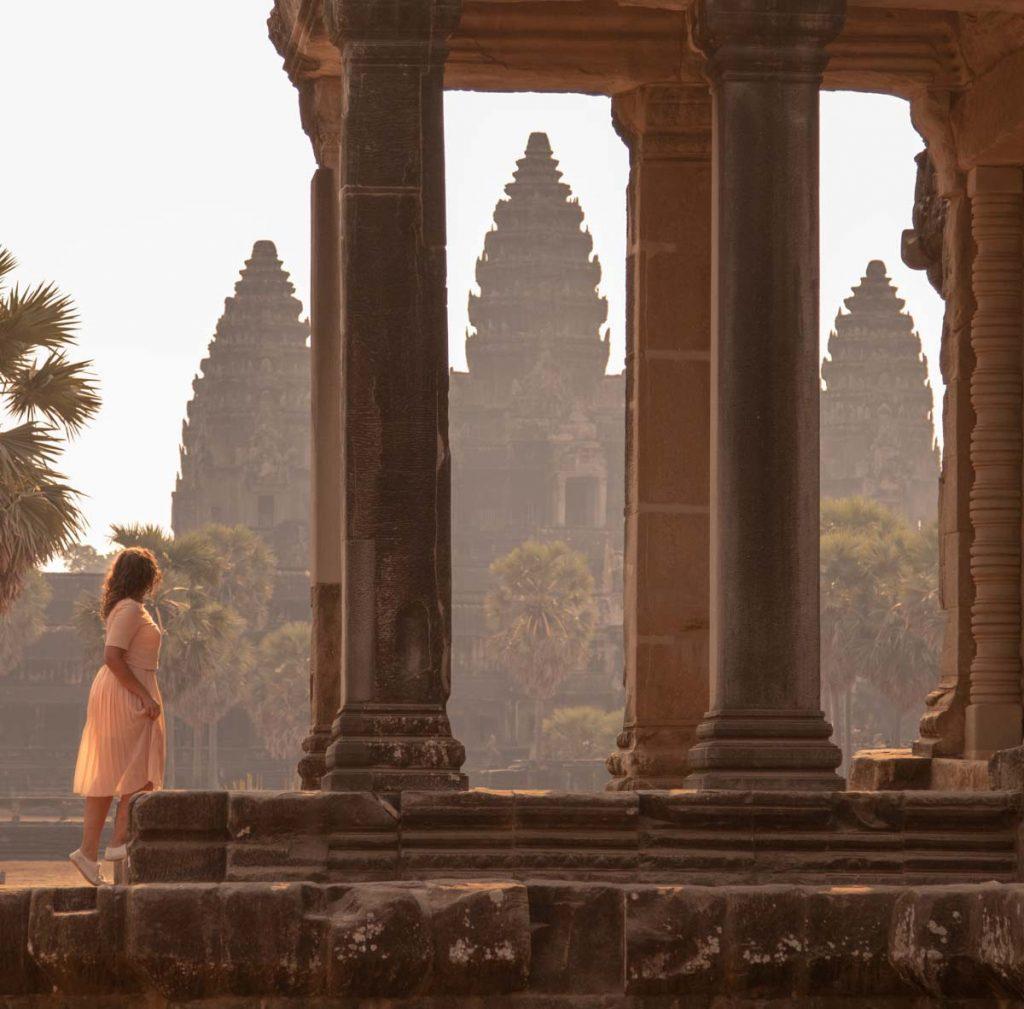 Rita Cambodja Angkor Wat