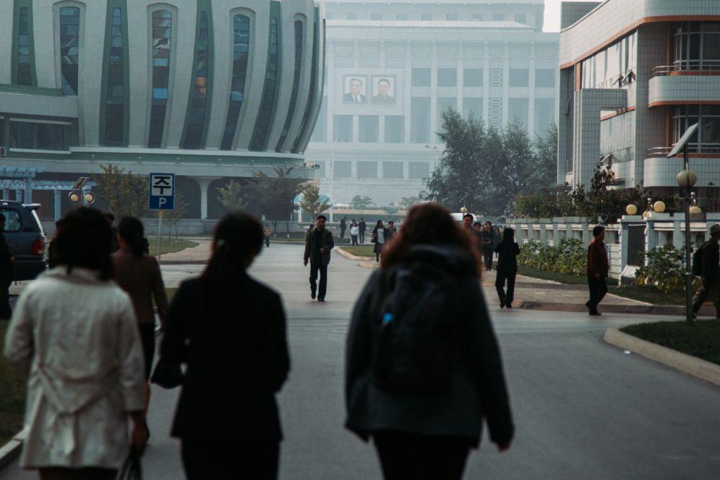 rita in Pyongyang