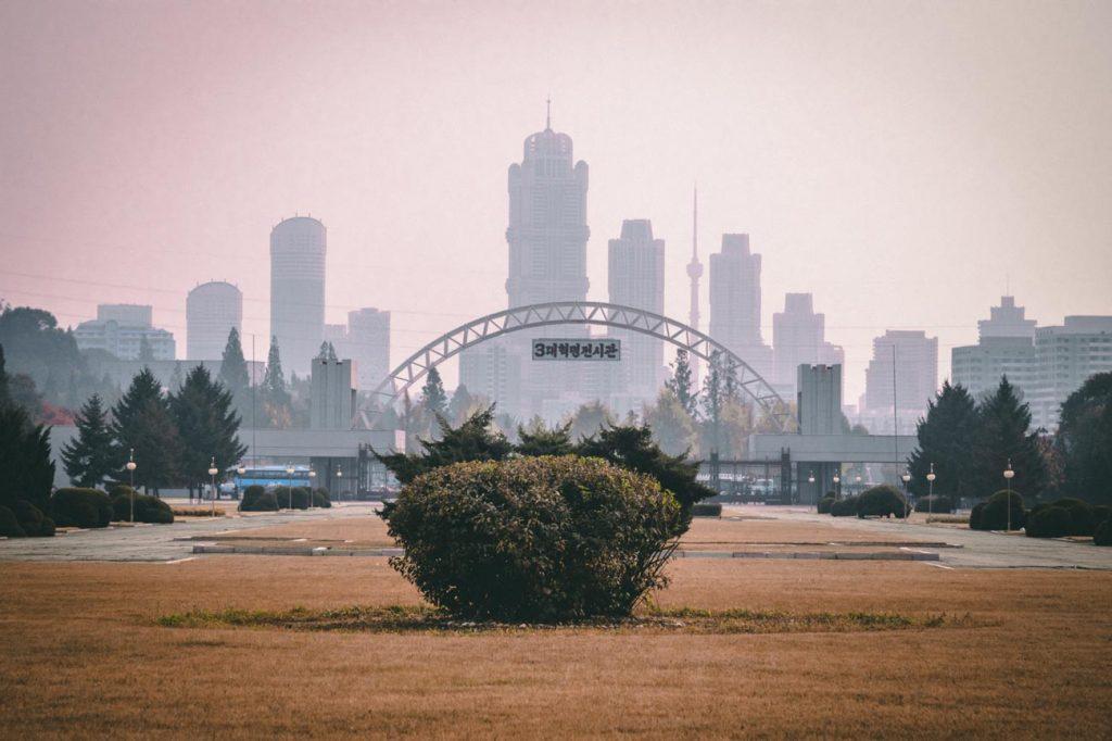 Futuristisch Pyongyang
